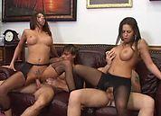 Pantyhose Whores #2, Scene 1