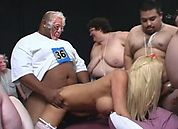 World's First 300 Lb. Gang Bang, Scene 3