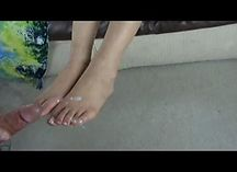 Asian MILF Blows N' Toes - Kaila
